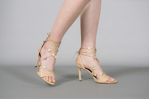 Arielle Star Lace Up Sandals