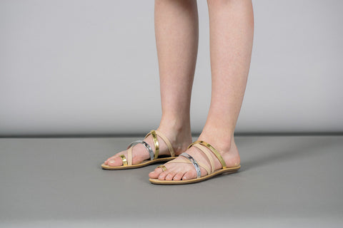 Sarie Strappy Thong Flat Sandals