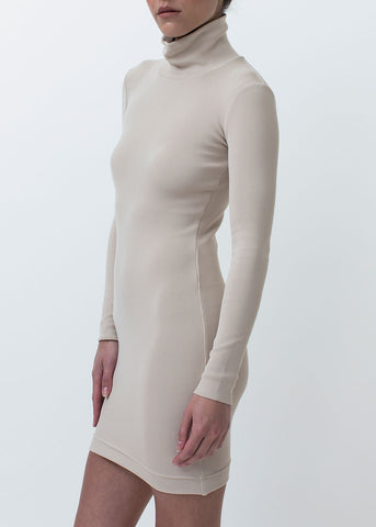 Malin High Neck Fitted Dress