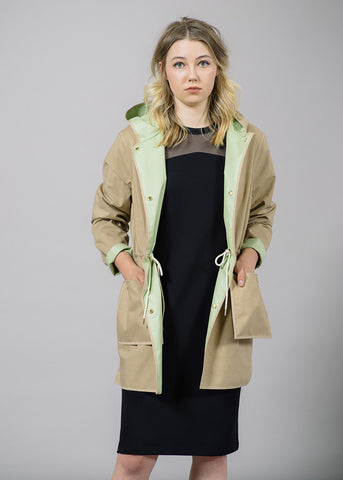 Lapu Reversible Rain Coat