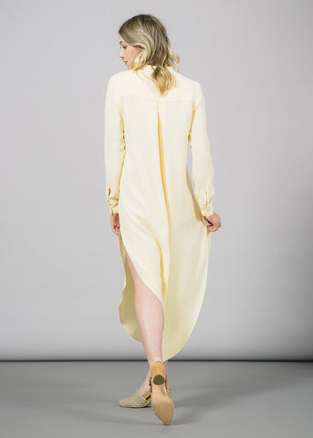 Mong Shirtdress with Slits