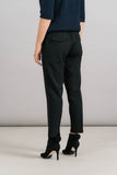 Achro Pull On Trousers in Black Back Detail