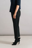 Achro Pull On Trousers in Black Side Detail