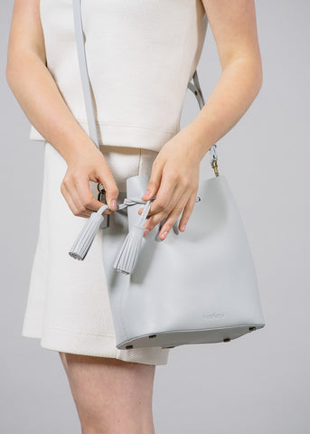 Grey Dita Bucket Bag