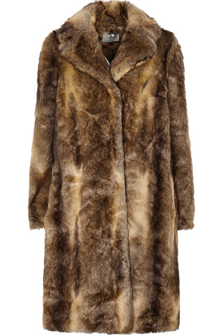 Enzo Fake Fur Coat