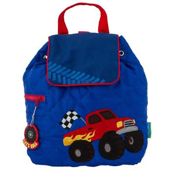 Monogrammed Big Truck Backpack