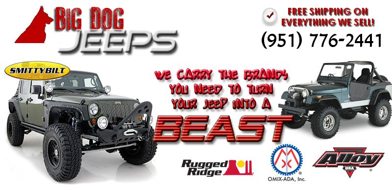 Big Dog Performance Parts and Jeep Parts