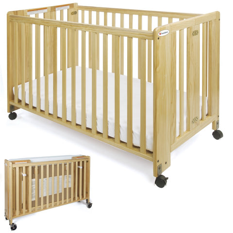 Compact Size Crib with Linens