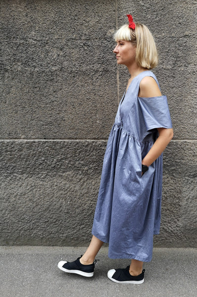 Oversized and Versetile Cotton Dress for Everyday and Festive Events