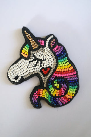 Magical Unicorn Unisex Brooch