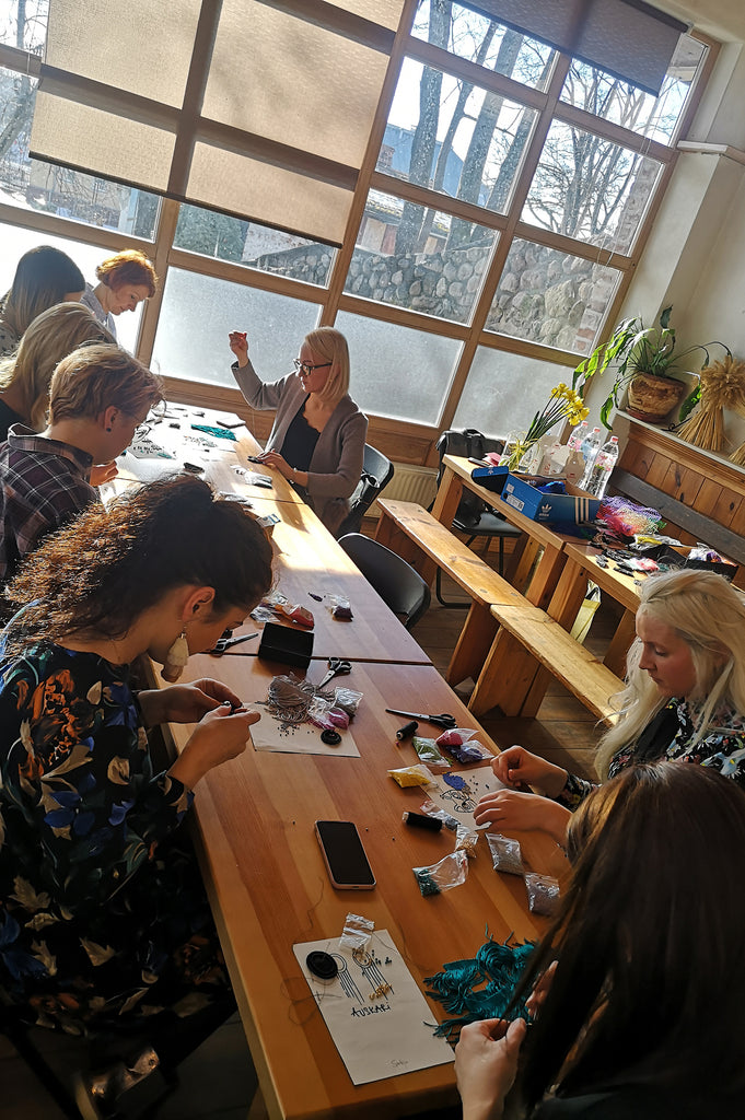 2,5 hour malvine.lv Accessory workshop on December 17, 2019 in RIGA - Malvine.lv studio