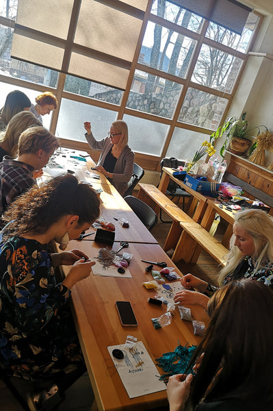 2,5  hour malvine.lv Accessory workshop on February 25, 2020 in RIGA