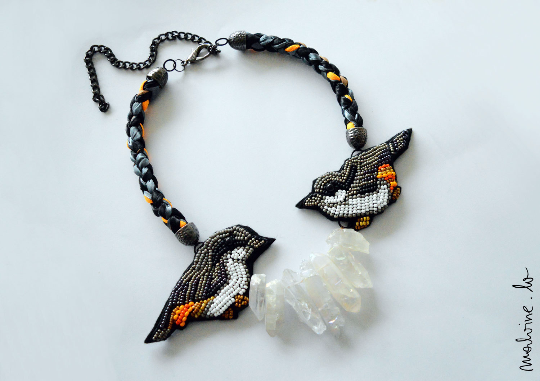 "Māra Necklace ""The Nuthatch"""