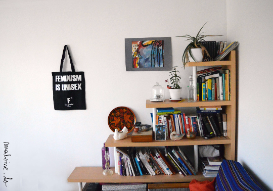 Unisex statement Tote bag