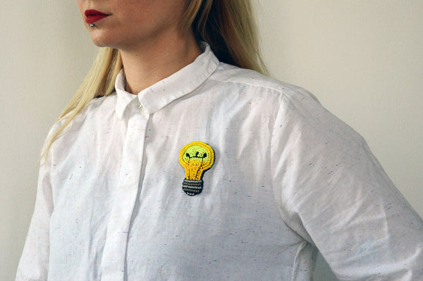 "Unisex pin ""I have an Idea"""