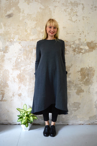 The Warmest Dress in the World - Graffit Grey