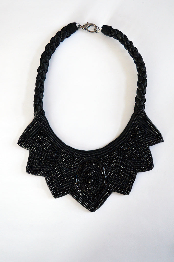 Black is New Black necklace