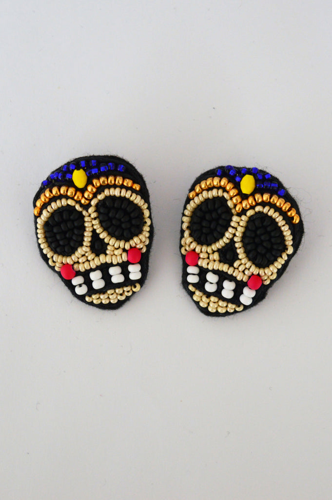 Sugar scull earrings