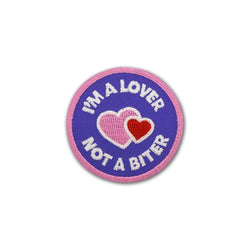 Lover not a Biter Merit Badge