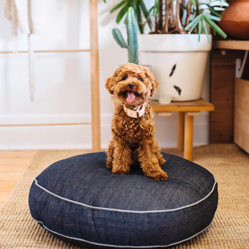 Blue Jean Baby Denim Dog Bed