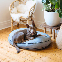 Jean Genie Denim Dog Bed