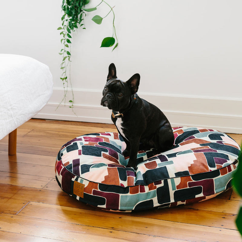 Making Shapes Dog Bed