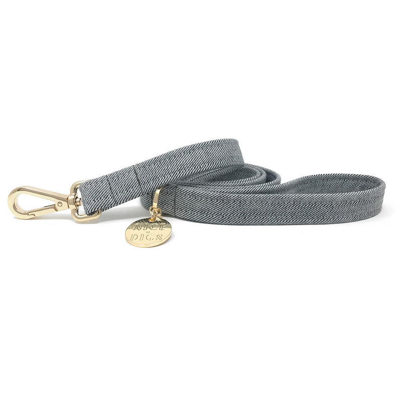 Light Denim Leash
