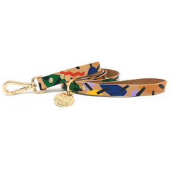 Block Party Leather Leash