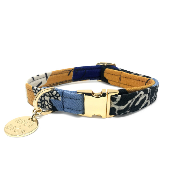 Out Of The Rubble Printed Dog Collar