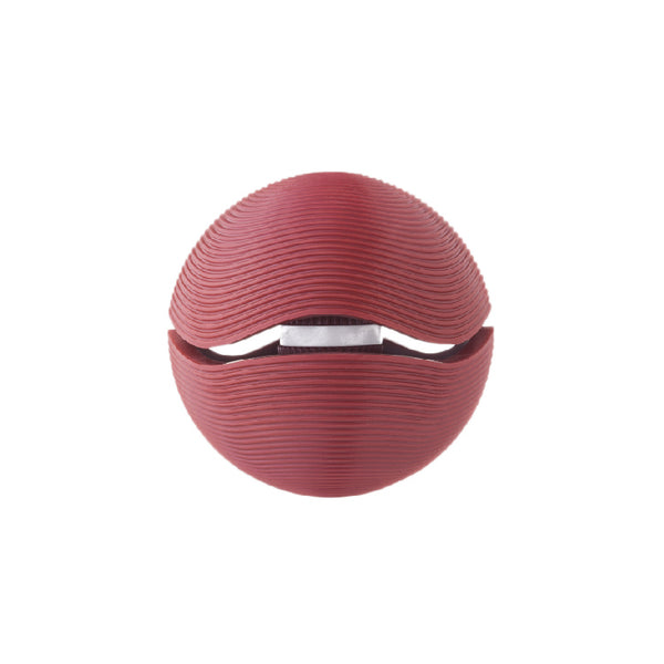Pop Treat Dispenser Dog Ball - Red