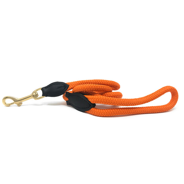 Rope Leash - Orange