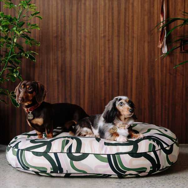 Wandering Ways Digitally Printed Dog Bed
