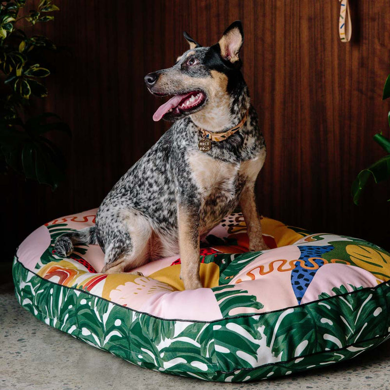 Wanderlust Digitally Printed Dog Bed
