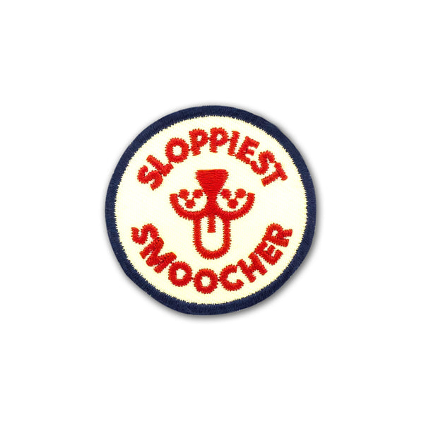 Sloppiest Smoocher Merit Badge