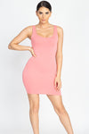 BASIC MINI DRESS-DRESS-Fashion Bombshellz | Online Boutique