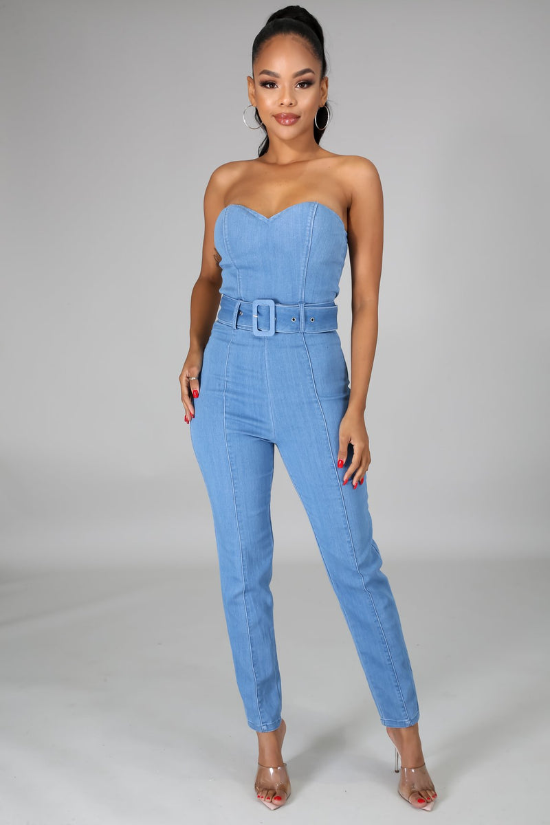 DENIM BABE JUMPSUIT-JUMPSUIT-Fashion Bombshellz | Online Boutique