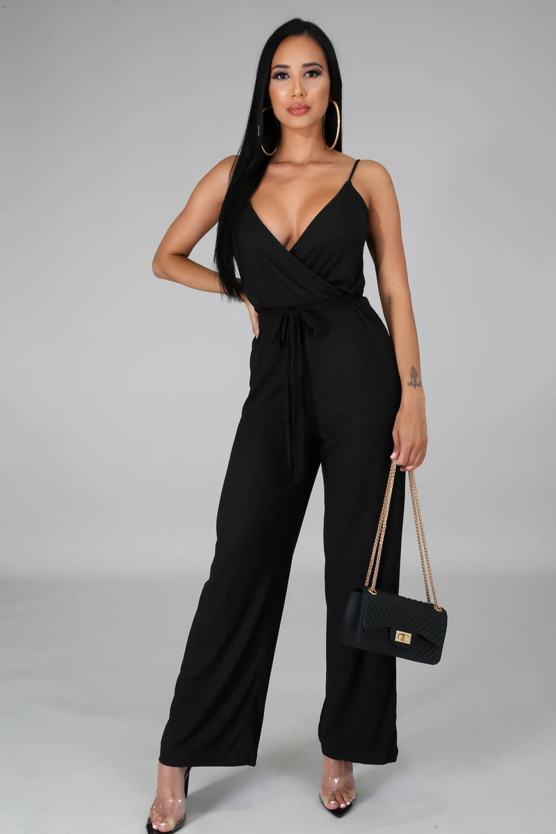 KEEP IT SIMPLE JUMPSUIT-JUMPSUIT-Fashion Bombshellz | Online Boutique