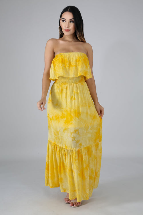 SUNSHINE MAXI DRESS-DRESS-Fashion Bombshellz | Online Boutique