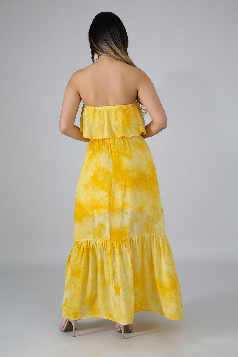 SUNSHINE MAXI DRESS-Fashion Bombshellz | Online Boutique