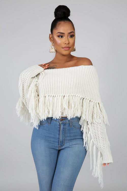 KEEP ME WARM SWEATER-Tops-Fashion Bombshellz | Online Boutique