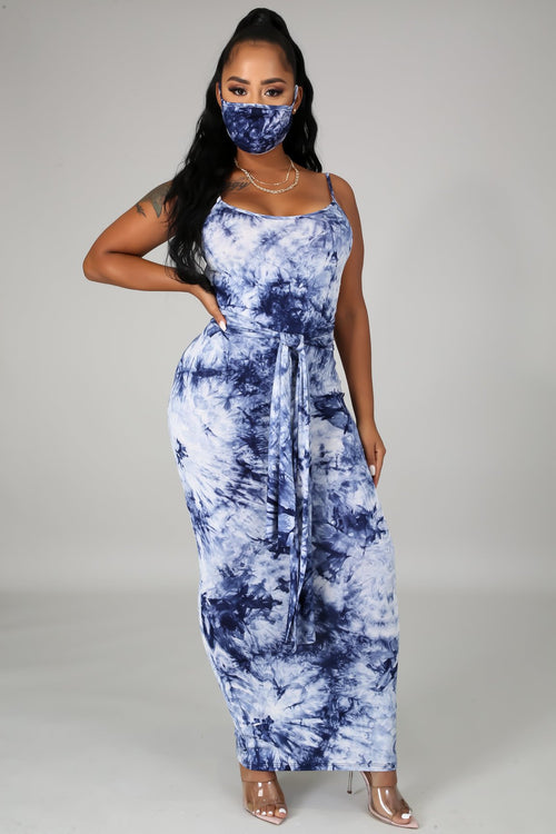 TIE DYE MAXI DRESS-DRESS-Fashion Bombshellz | Online Boutique