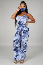 TIE DYE MAXI DRESS-Fashion Bombshellz | Online Boutique