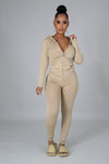 STAY ON TRACK SET | KHAKI-Set-Fashion Bombshellz | Online Boutique