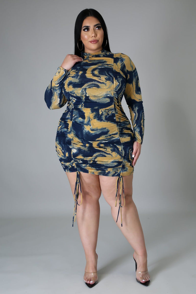 WORK OF ART DRESS-DRESS-Fashion Bombshellz | Online Boutique