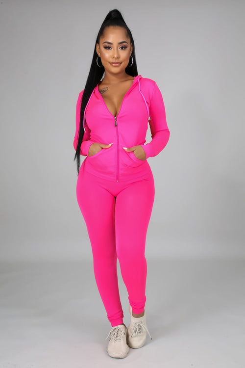 STAY ON TRACK SET | PINK-Set-Fashion Bombshellz | Online Boutique