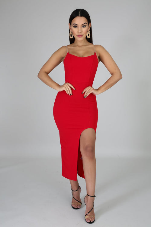 LADY IN RED DRESS - Fashion Bombshellz | Online Boutique