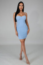 BARBIE MINI DRESS-DRESS-Fashion Bombshellz | Online Boutique