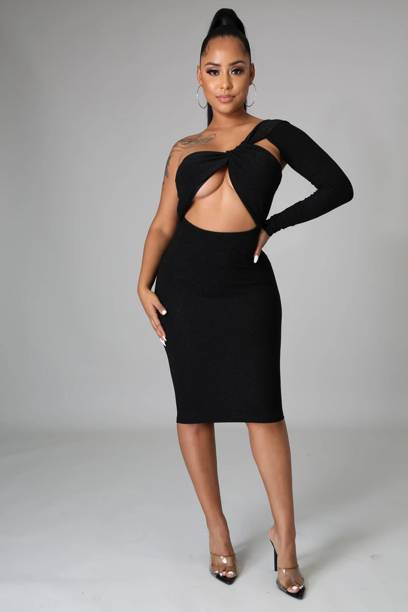 FOXY MIDI DRESS-DRESS-Fashion Bombshellz | Online Boutique