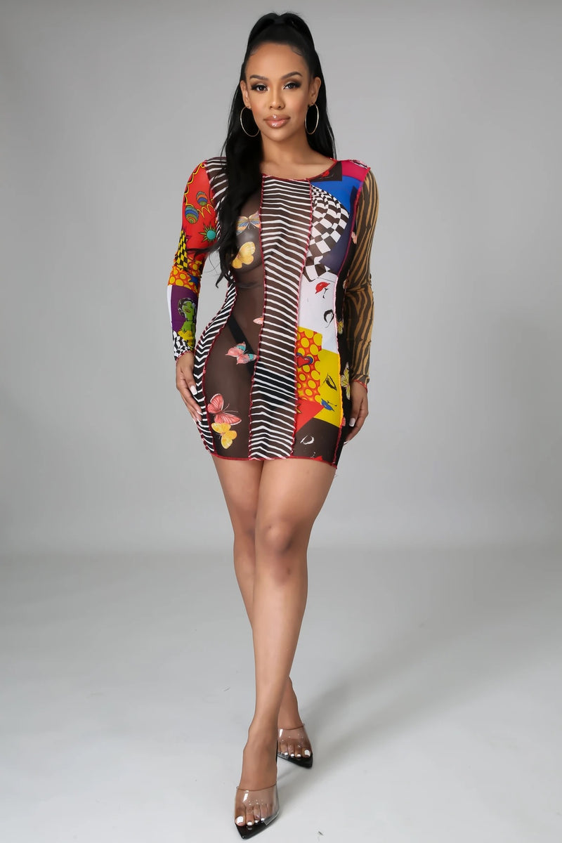 SHOW OFF MINI DRESS-DRESS-Fashion Bombshellz | Online Boutique
