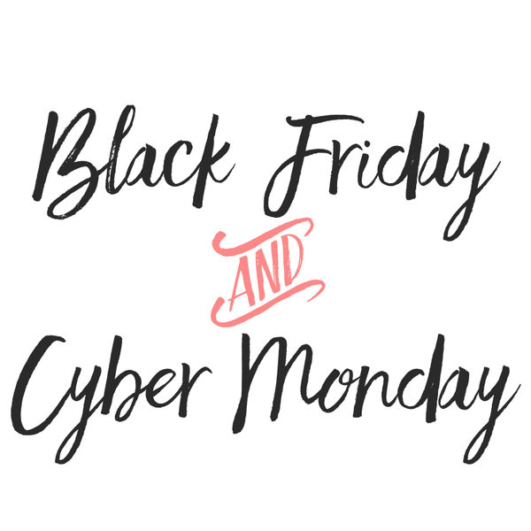 Black Friday and Cyber Monday Events